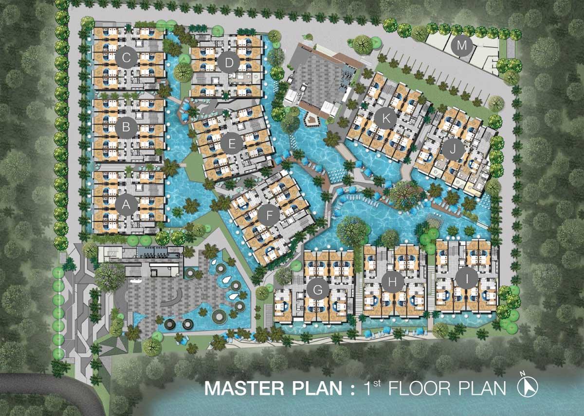 Wyndham Nai Harn Beach Phuket Master Plan