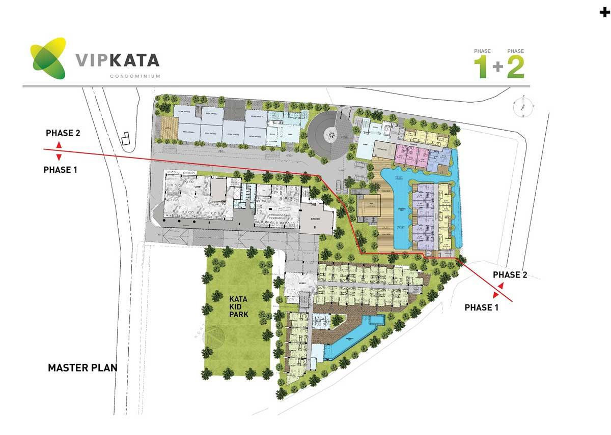 vip kata condominium master plan